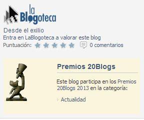 Premios 20Minutos 2013