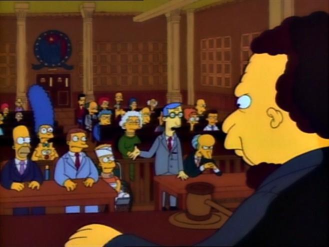 Juzgado Simpsons