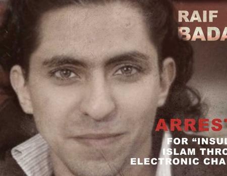 """Je suis Raif Badawi. Quiero entrar en """"Arabia Red Liberal"""""""