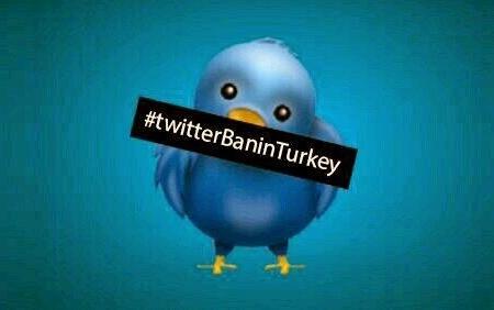 Erdogan aparta a Turquía de la democracia. Cierre de Twitter