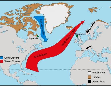 Los datos de los últimos 20 años muestran que la Corriente del Golfo es estable