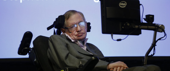 Professor Stephen Hawking during a press conference in London, Tuesday, Dec. 2, 2014. Professor Hawking and Intel discussed the late