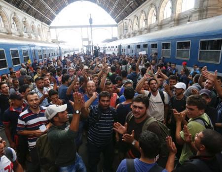 Alemania y la crisis de refugiados