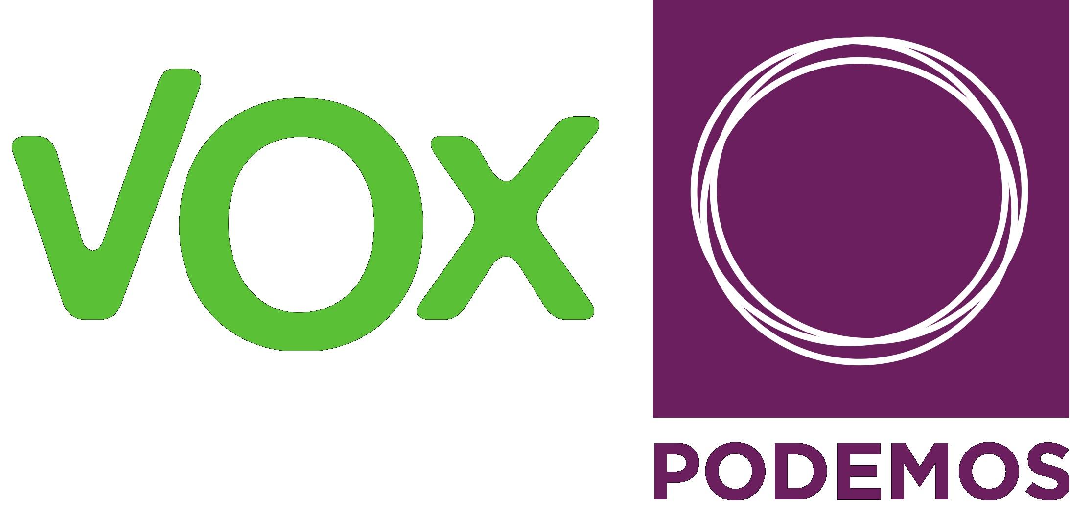Vox y Podemos III – El verde cada vez es más morado