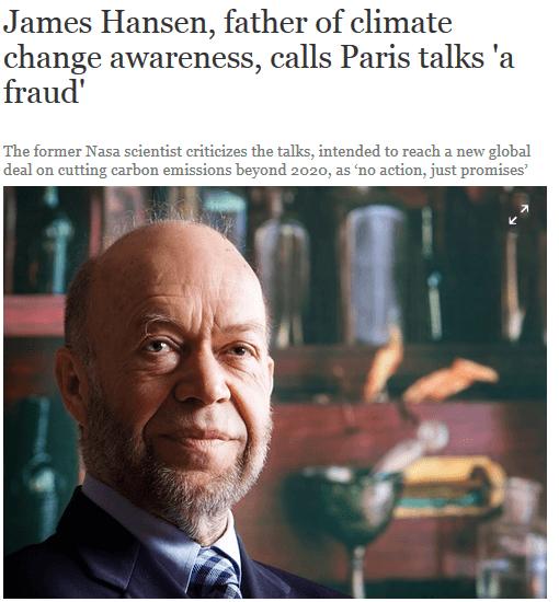 París, #COP21 ¿Qué ha sido eso? Un tratado negacionista