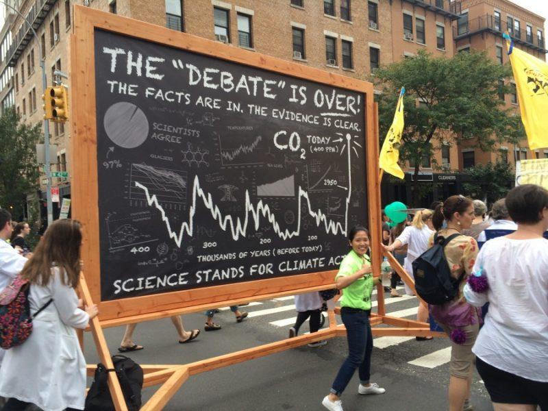 """#ScienceMarch define """"la ciencia"""": dadnos vuestra pasta, os daremos nuestra política"""