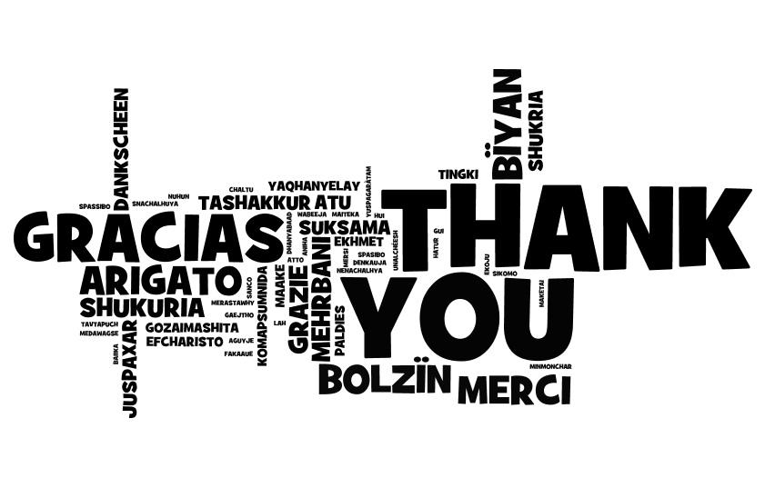 Queridos lectores, gracias