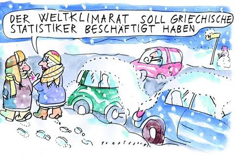 Los griegos y el clima