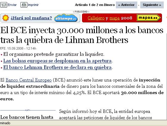 """""""O España se sale del euro y devalúa o tendrá que afrontar una crisis peor que la de la Gran Depresión de los años 30"""""""