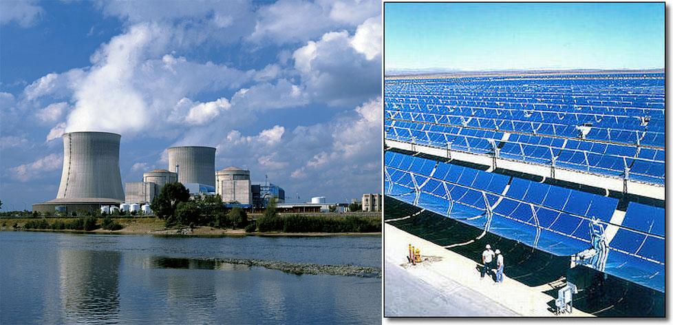 ¿Preferirías vivir junto a una central nuclear o junto a una termosolar?