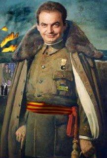 Rodríguez Zapatero como Francisco Franco: ya tiene su conspiración